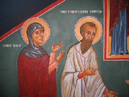 St Bega and St Mungo