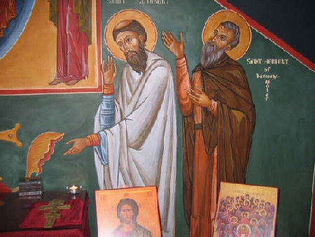 St Cuthbert and St Herbert