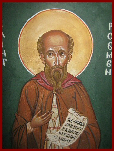 Icon St Poemen