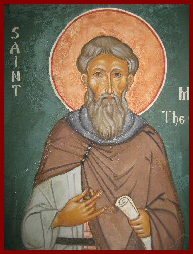 Icon St Maxius the Confessor