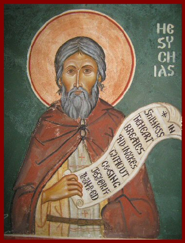 Icon St Hesychias