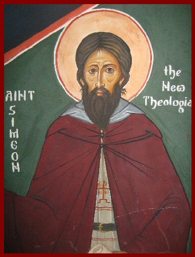 Icon St Simeon the New Theologian