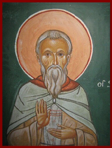 Icon St Gregory of Sinai