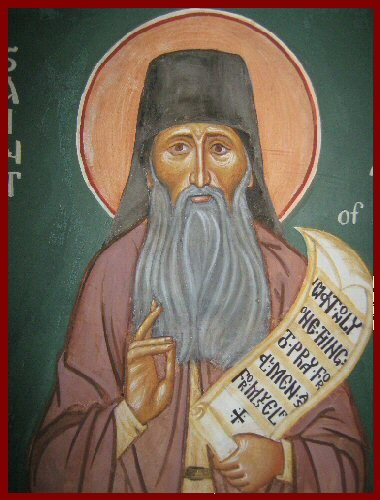 Icon St Silouan of Athos